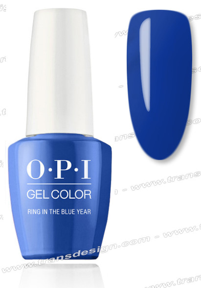 OPI GelColor - Ring in the Blue Year 0.5oz.
