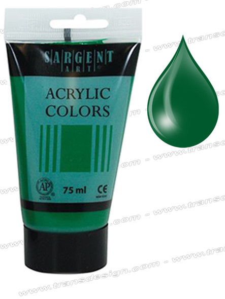 Sargent Art - Phthalo Emerald  2.5oz.