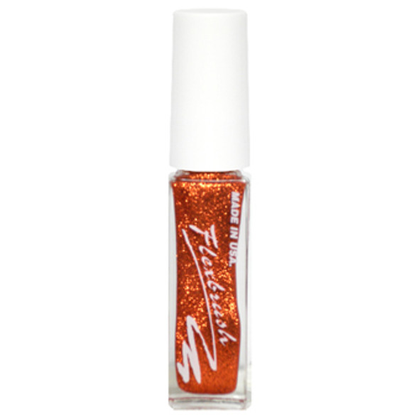 Flexbrush Lacquer Base -  Copper Glitter 1/3oz.