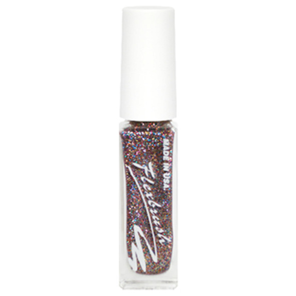 Flexbrush Lacquer Base - Multicolor Glitter 1/3oz.