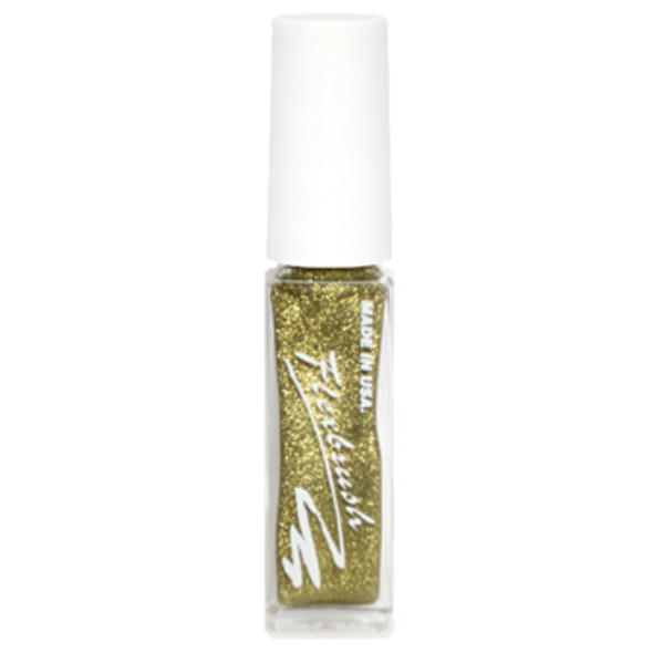 Flexbrush Lacquer Base - Light Gold Glitter 1/3oz