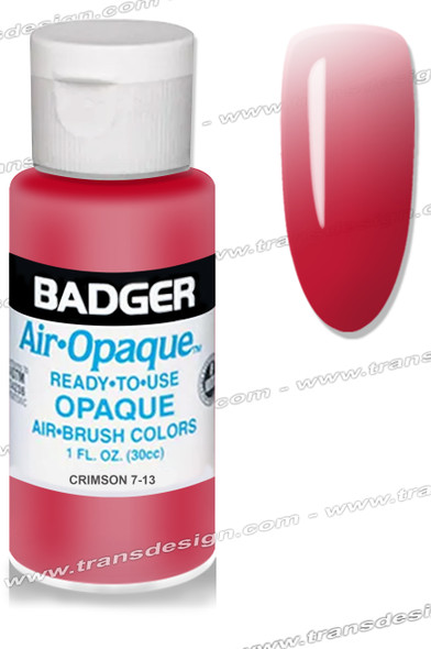 BADGER Airbrush Color - Crimson Red 1oz.