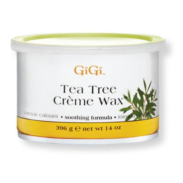 GiGi - Tea Tree Creme Wax 14oz