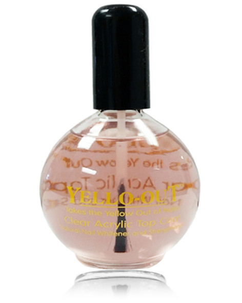 YELLO-OUT Crystal Clear Acrylic Top Coat 2.5oz.