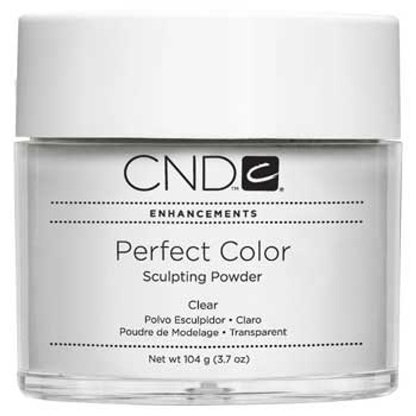 CND-Perfect Color Sculpting Powder Clear 3.7oz. (104g)