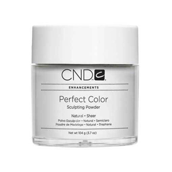 CND-Perfect Color Powder Natural  3.7oz. (104g)