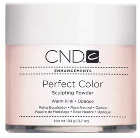 CND-Perfect Color Powder Warm Pink  3.7oz. (104g)