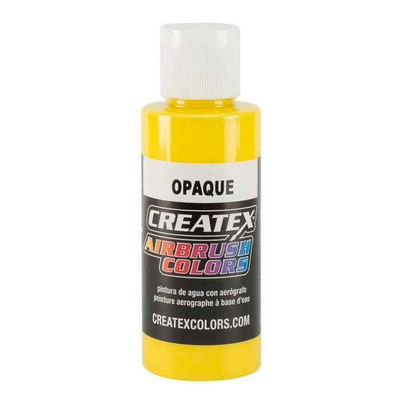 Createx - Opaque Yellow 2oz.