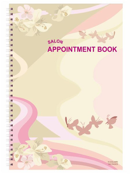 Appointment Book - 4 Columns # AB104