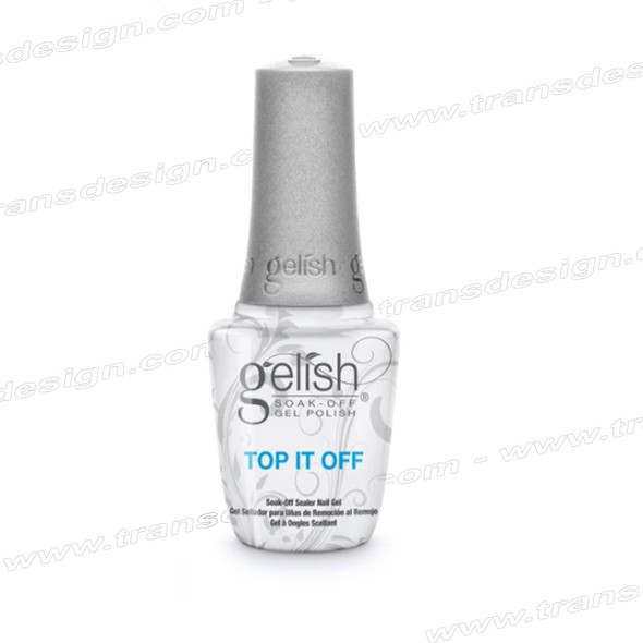 GELISH Top It Off Soak-Off Sealer Gel 0.5oz.
