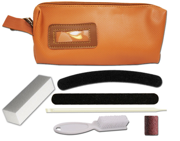 Personal Care Kit / Tan Purse