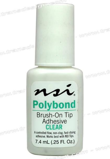 NSI Polybond Adhesive Clear 0.25oz.