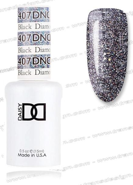 DND Gel Duo - Black Diamond Star