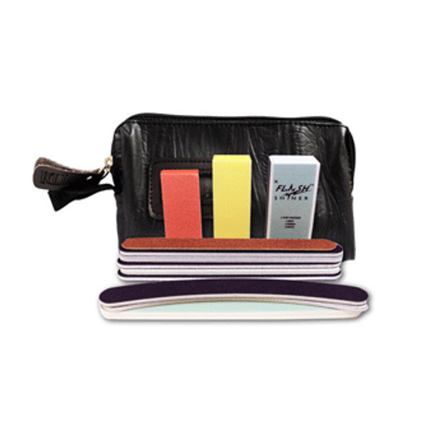 FILE & BUFFER 13 Sampler/Zip Purse Black