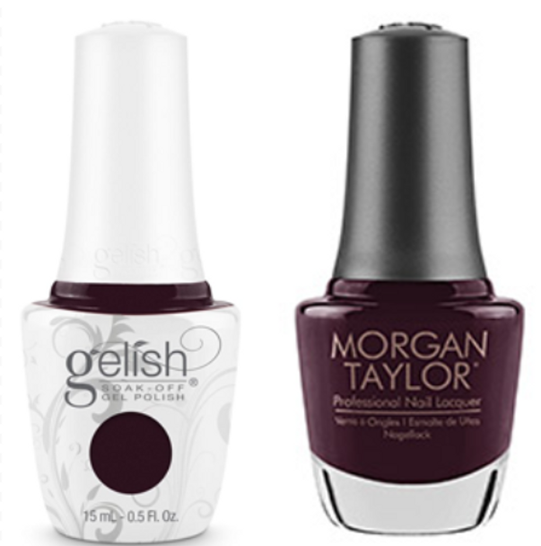 GELISH/MORGAN TAYLOR Two Of A Kind - Danced And Sang-ria 0.5oz. 2/Pack*