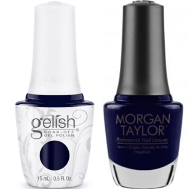 GELISH/MORGAN TAYLOR Two Of A Kind - Baby It's Bold Outside 0.5oz. 2/Pack*