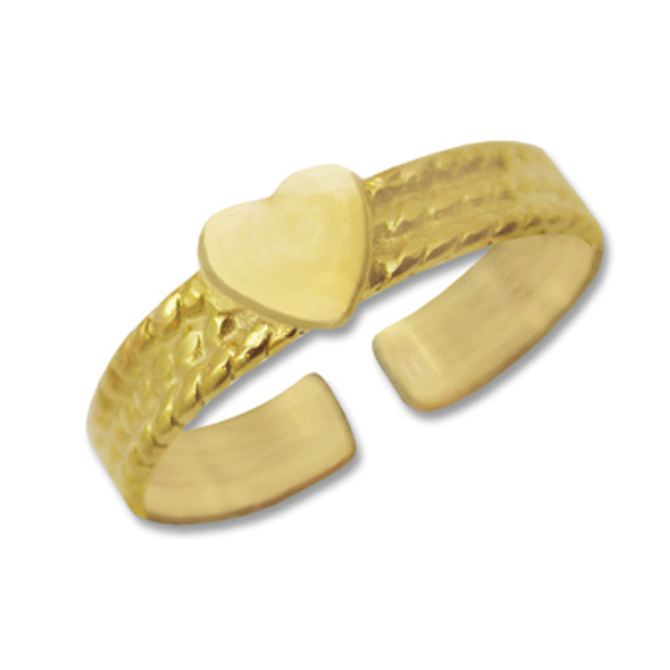 Gold Plated Toe Ring [9-316]