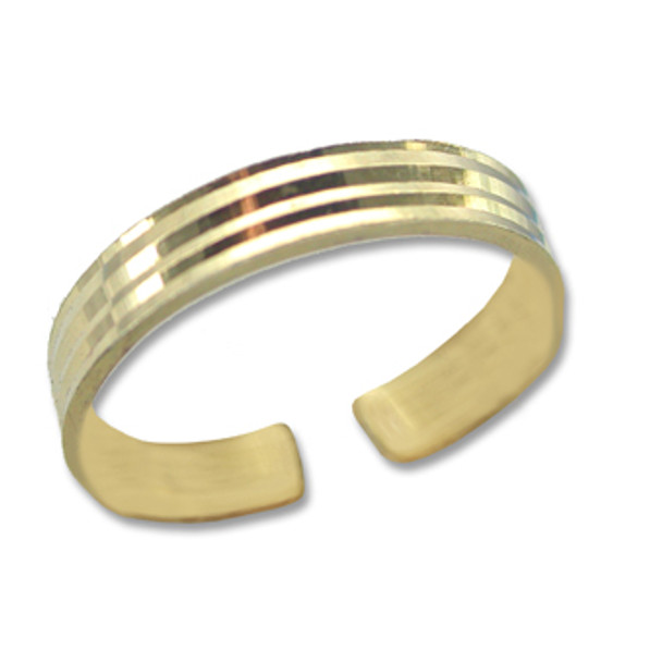 Gold Plated Toe Ring [9-347]