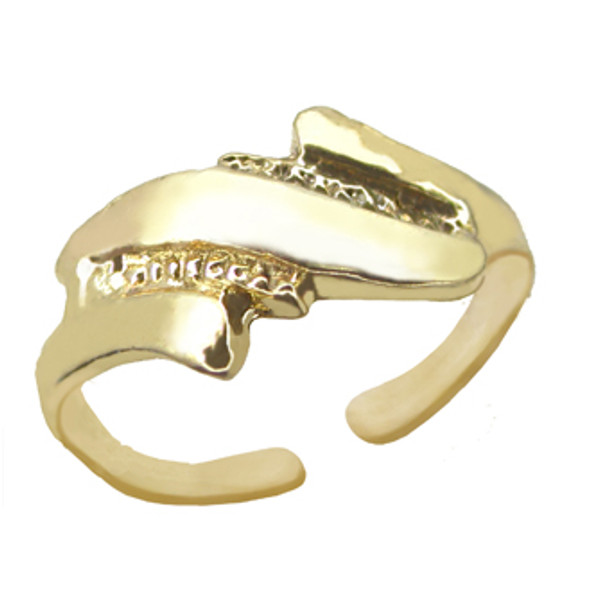 Gold Plated Toe Ring [9-331]