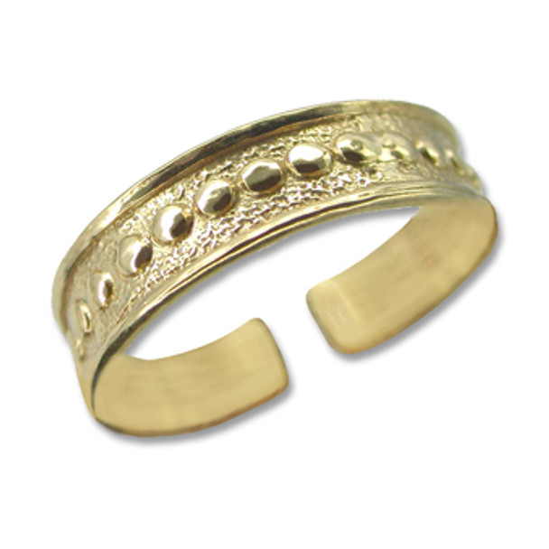 Gold Plated Toe Ring [9-332]