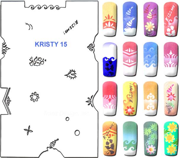 Stencil Kristy K15