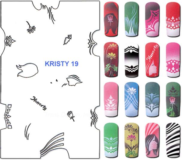 Stencil Kristy K19
