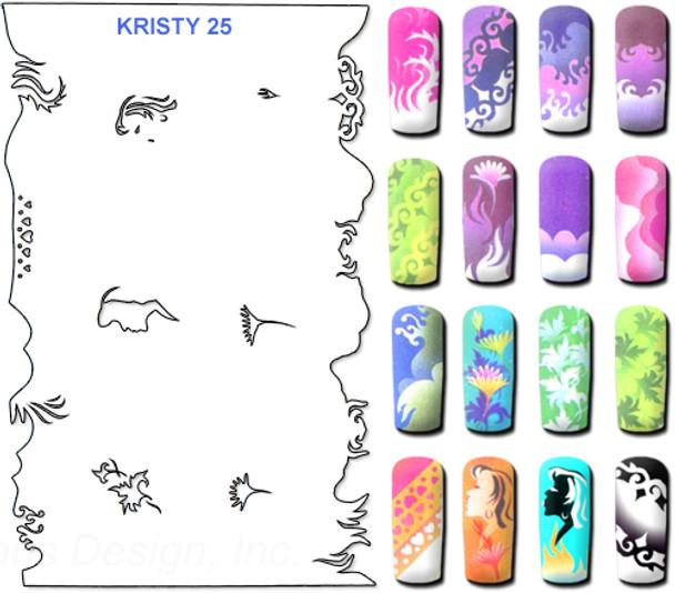 Stencil Kristy K25