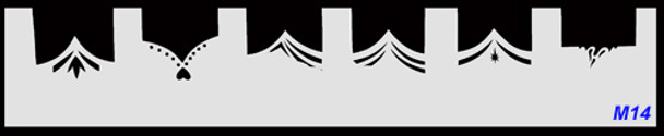 Stencil French M14