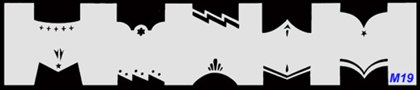 Stencil French M19