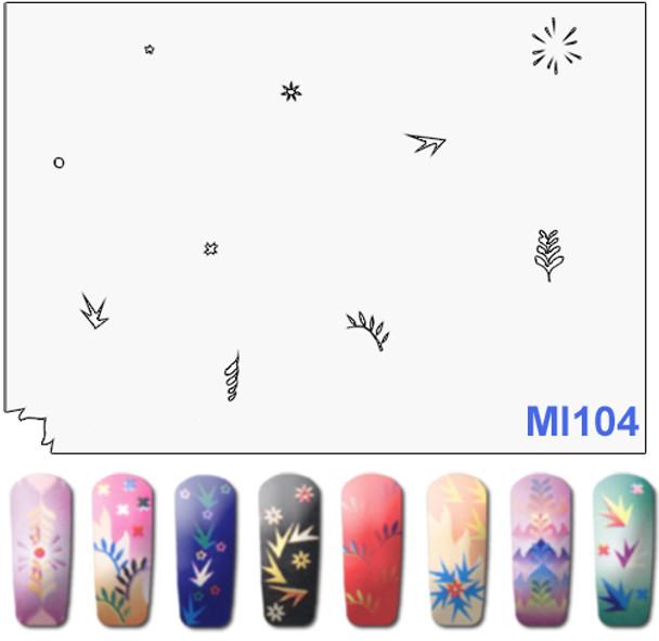 Stencil MI104
