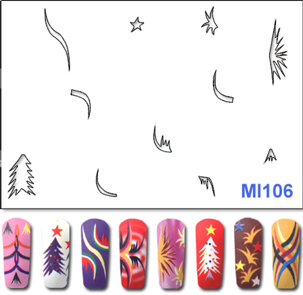 Stencil MI106