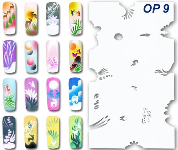 Stencil OP-9