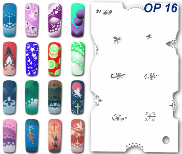 Stencil OP-16