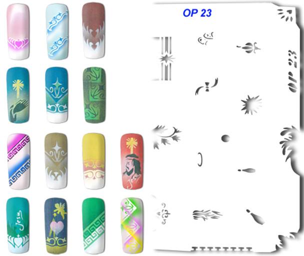 Stencil OP-23