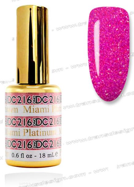 DND DC Platinum Gel - Miami 0.6oz.