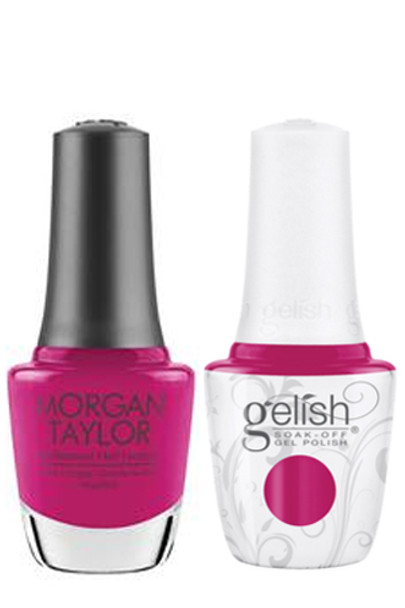 GELISH/MORGAN TAYLOR Two Of A Kind - It's The Shades 0.5oz. 2/Pack*