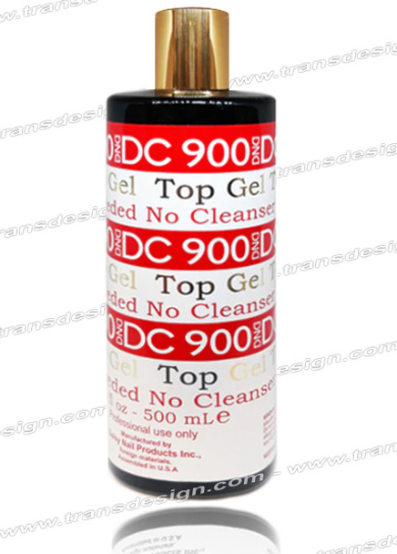 DND DC - Top Gel | No Cleanser Needed DC 900 16oz.