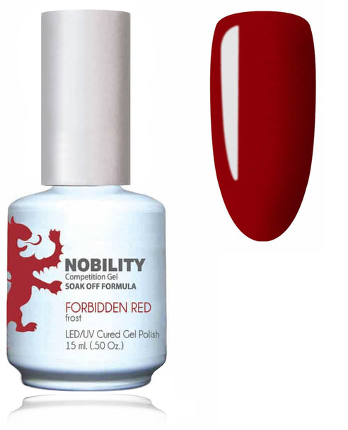 LECHAT NOBILITY Gel Polish & Nail Lacquer Set - Forbidden Red