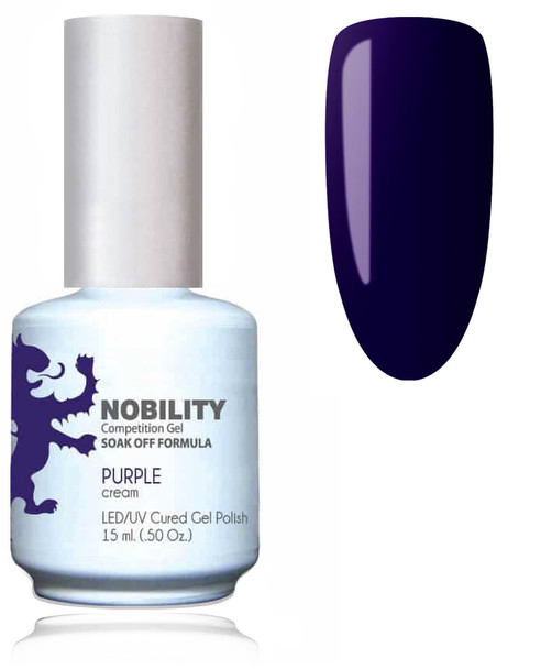 LECHAT NOBILITY Gel Polish & Nail Lacquer Set - Purple