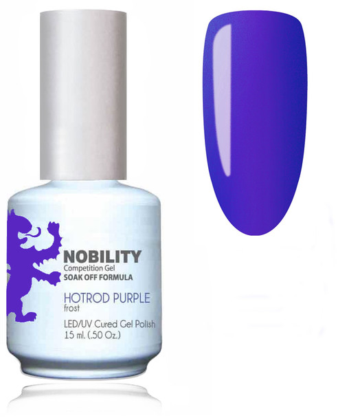 LECHAT NOBILITY Gel Polish & Nail Lacquer Set - Hotrod Purple