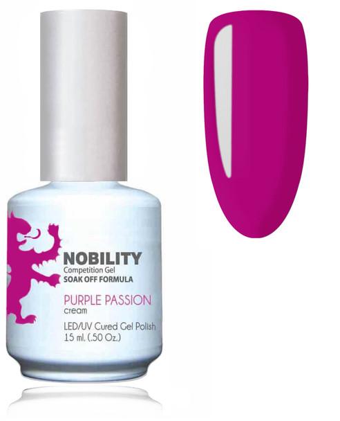 LECHAT NOBILITY Gel Polish & Nail Lacquer Set - Purple Passion