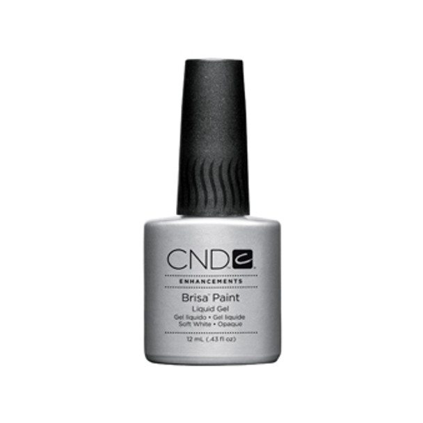CND BRISA - Pure White Opaque Paint 0.43oz.
