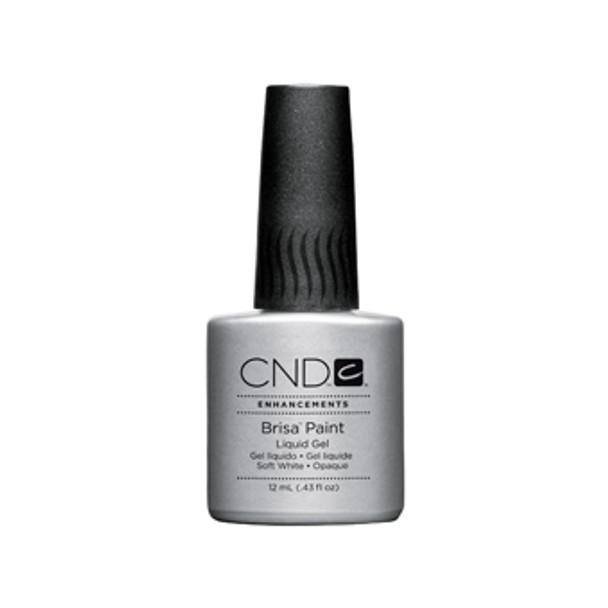 CND Brisa - Pure White Gel Paint 0.43oz