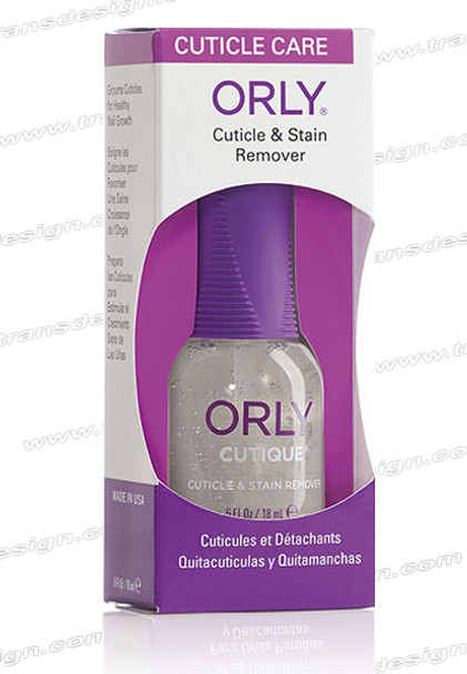 ORLY Nail Treatment Cutique Cuticle Softener& Stain Remover 0.6oz