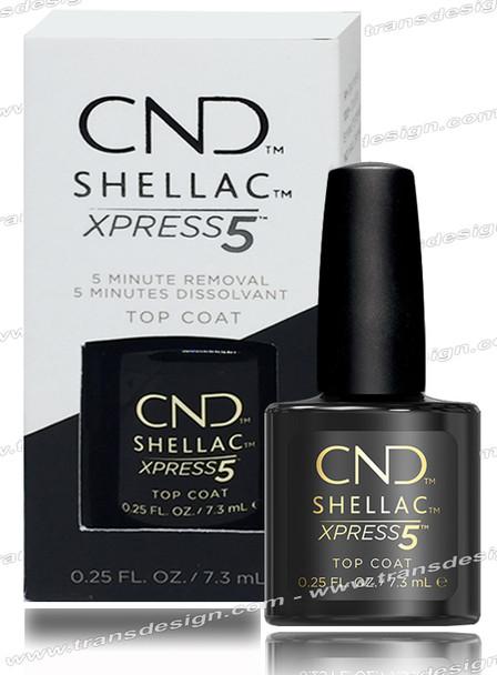 CND Shellac - Express5 Top Coat