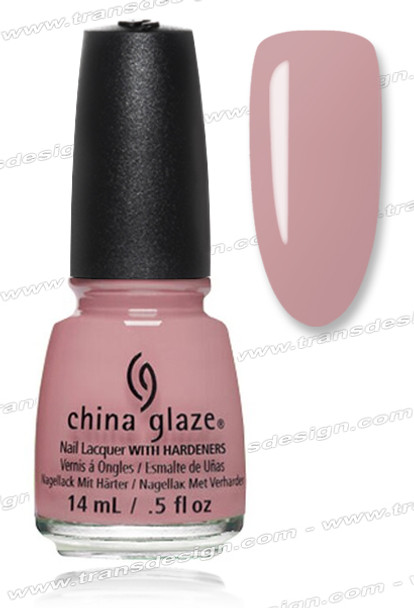 CHINA GLAZE POLISH - Don't Make Me Blush