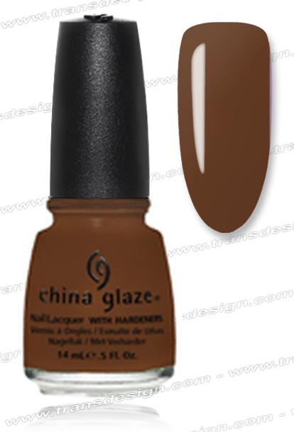 CHINA GLAZE POLISH -Mahogany Magic