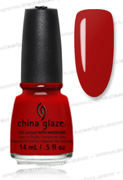 CHINA GLAZE POLISH - Vermillion