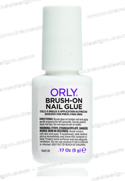 ORLY-Brush-On Nail Glue 0.17oz (5g).