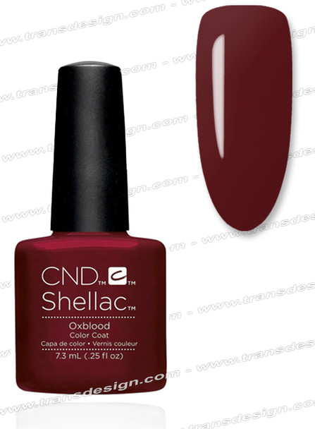 CND SHELLAC -  Oxblood 0.25oz.